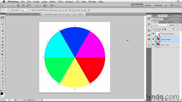Understanding the color wheel: Photoshop for Designers: Color