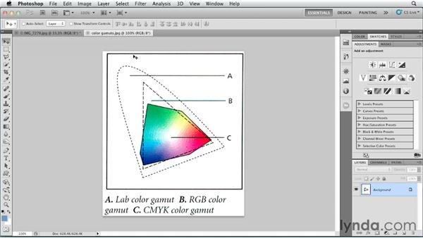 Colors on screen and on paper: Photoshop for Designers: Color (2012)