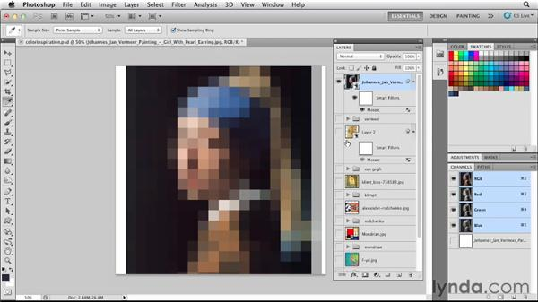 : Photoshop for Designers: Color
