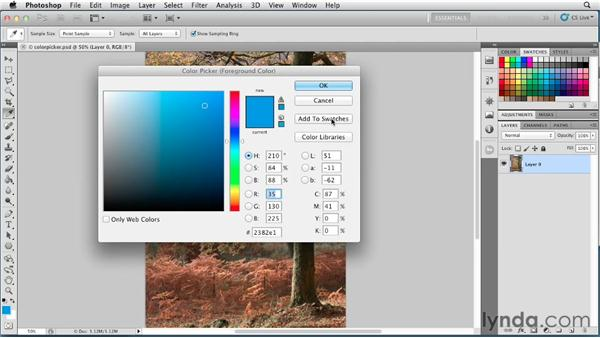 Demystifying the Color Picker: Photoshop for Designers: Color