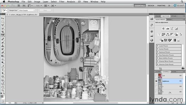 Lab mode: Photoshop for Designers: Color (2012)