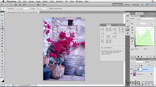 Color correction by the numbers: Photoshop for Designers: Color