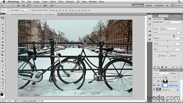 Using selective color: Photoshop for Designers: Color