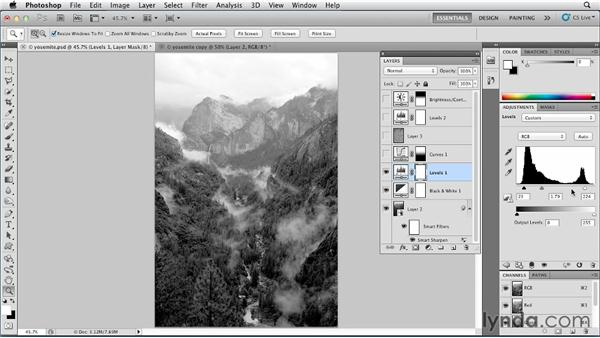 Converting to black and white: Photoshop for Designers: Color