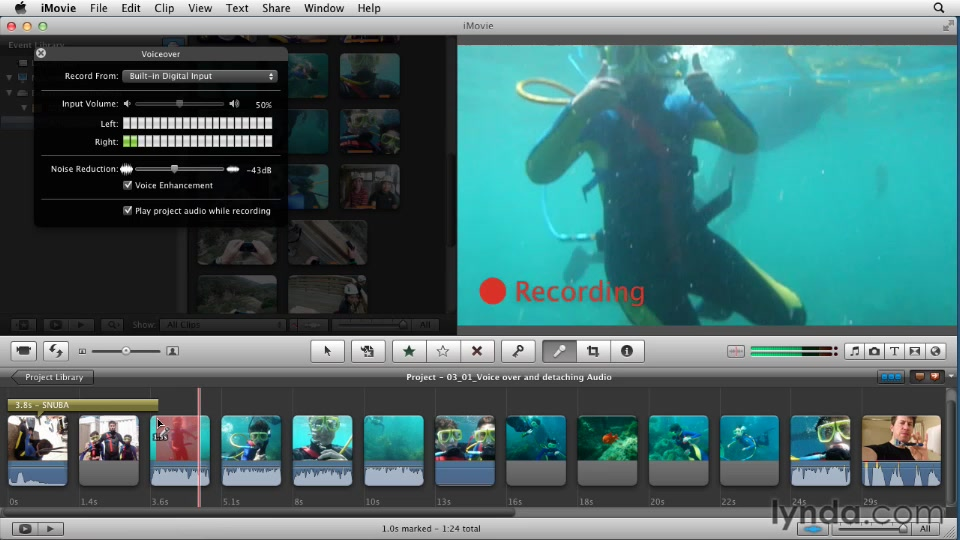Creating a Vacation Video with iMovie