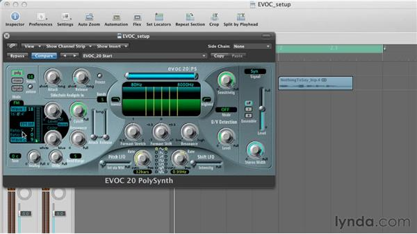 Exploring the synthesis section : Virtual Instruments in Logic Pro