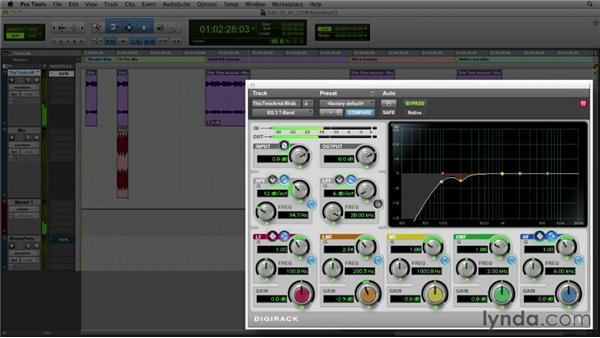 Get in the Mix: Using EQ to fix problems and place elements in the mix: Foundations of Audio: EQ and Filters