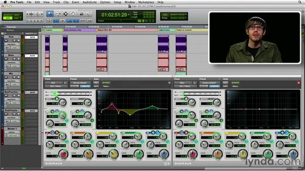 Get in the Mix: Creating complementary EQ curves: Foundations of Audio: EQ and Filters
