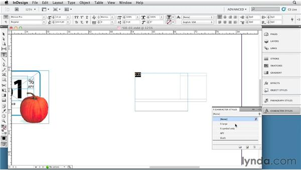 Simplifying complex text frames with tables: InDesign Tables In Depth (2012)