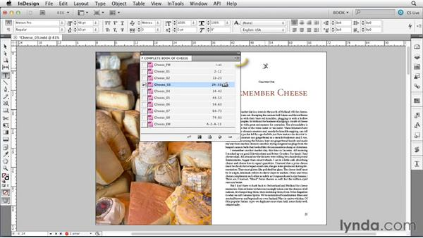 Welcome: Creating Long Documents with InDesign