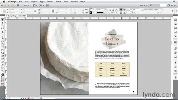 Analyzing the planned output: Creating Long Documents with InDesign