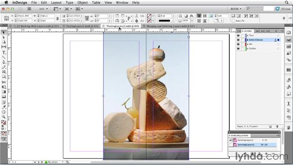 Using layers: Creating Long Documents with InDesign