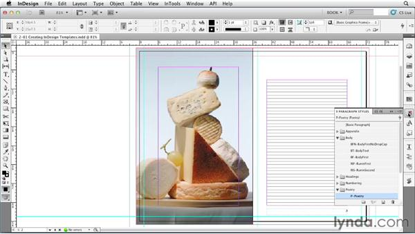 Using InDesign templates: Creating Long Documents with InDesign