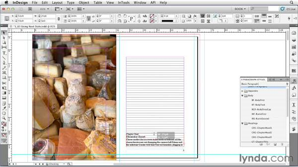 Using Next Style: Creating Long Documents with InDesign