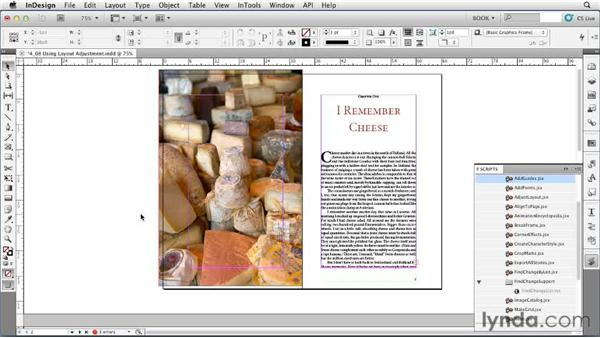 Using Layout Adjustment: Creating Long Documents with InDesign