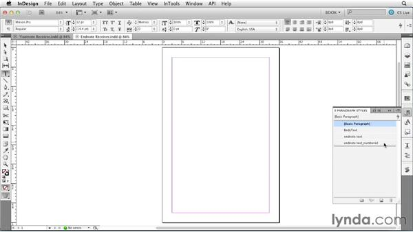 Importing footnotes: Creating Long Documents with InDesign