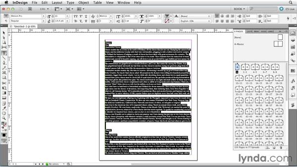 Using Smart Text Reflow: Creating Long Documents with InDesign