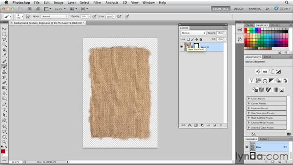 Adding a textured background: Designing a Restaurant Menu