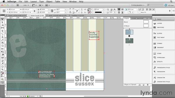 Creating an online version: Designing a Restaurant Menu