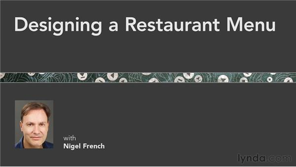 Goodbye: Designing a Restaurant Menu