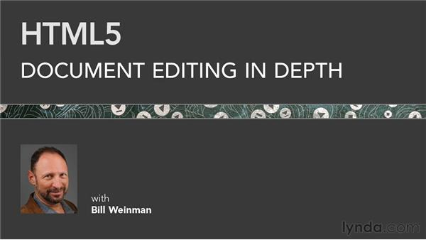 Goodbye: HTML5: Document Editing in Depth