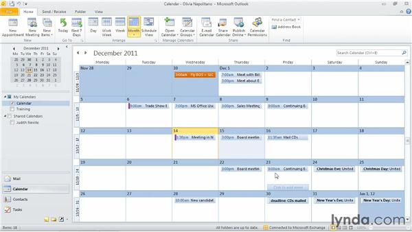 : Outlook 2010: Time Management with Calendar and Tasks