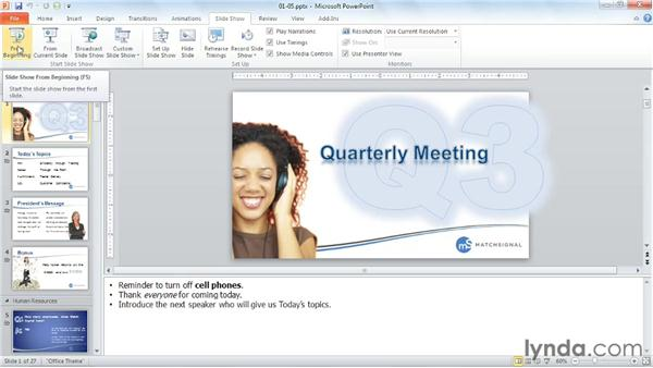 Opening with Show: PowerPoint Tips and Tricks for Business Presentations