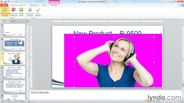 Using photographs: PowerPoint Tips and Tricks for Business Presentations