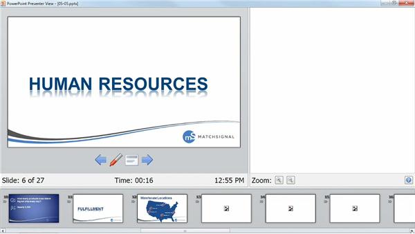 Using Presenter view: PowerPoint Tips and Tricks for Business Presentations