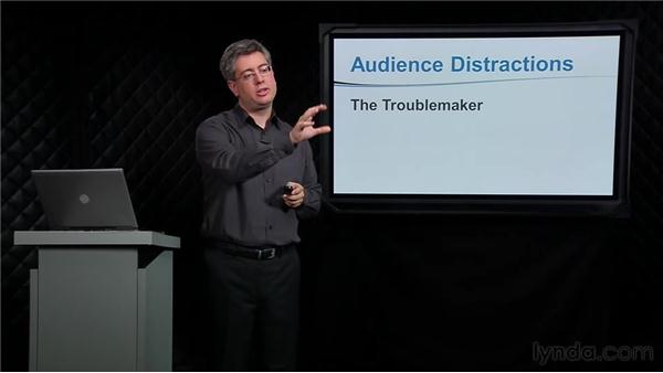 Dealing with audience distractions: PowerPoint Tips and Tricks for Business Presentations