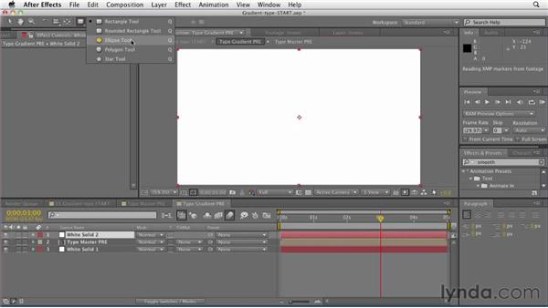 012 Creating gradient type in After Effects: Design in Motion