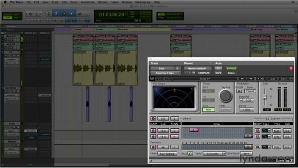 Get in the Mix: Using long delay on key lyrics: Foundations of Audio: Delay and Modulation