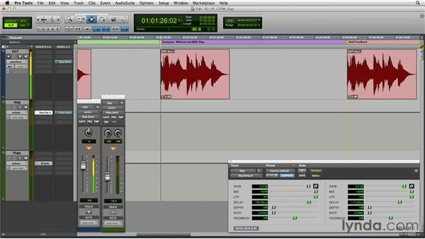 Get in the Mix: Creating slap-back echo with long delays: Foundations of Audio: Delay and Modulation