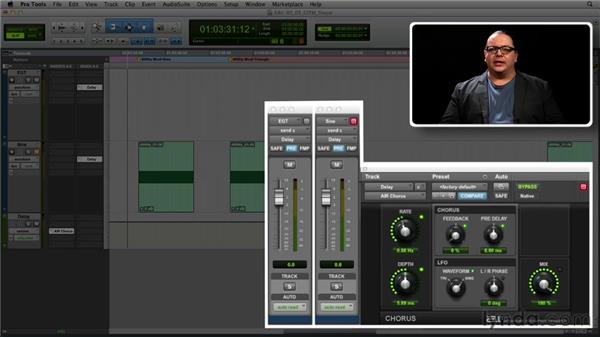 Get in the Mix: Modulation shape: Foundations of Audio: Delay and Modulation