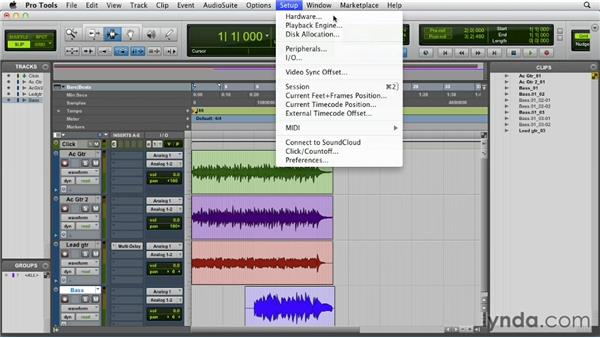 Dealing with latency and ADC: Pro Tools 10 Essential Training