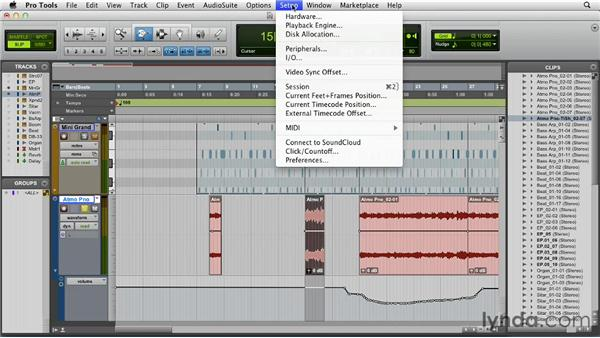 Using the Trim and Scrubber tools: Pro Tools 10 Essential Training