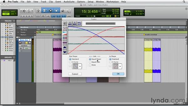 Utilizing fades and crossfades: Pro Tools 10 Essential Training