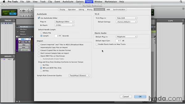 Setting up MIDI in Pro Tools: Pro Tools 10 Essential Training