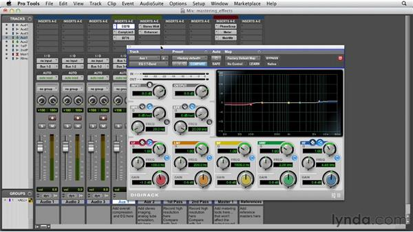 Mastering a session: Pro Tools 10 Essential Training