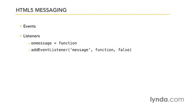 Overview of HTML5 messaging: HTML5: Messaging and Communications in Depth