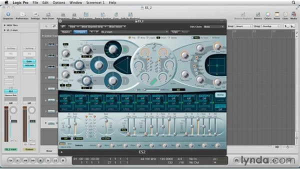 Getting Started with ES2: Virtual Instruments in Logic Pro