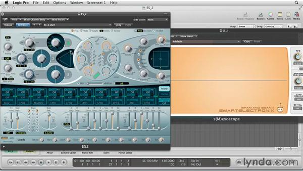 Series or Parallel? : Virtual Instruments in Logic Pro