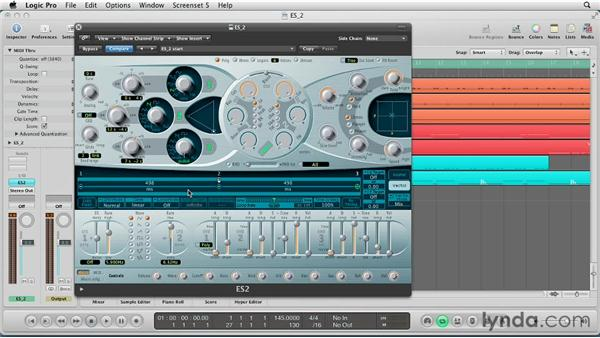 Create evolving sounds with basic vector modulation: Virtual Instruments in Logic Pro