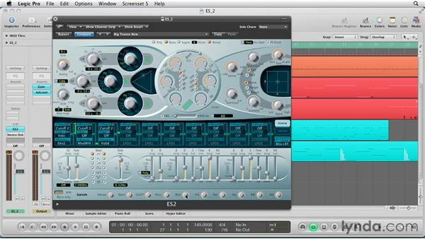Making changes to your macro and MIDI controls: Virtual Instruments in Logic Pro