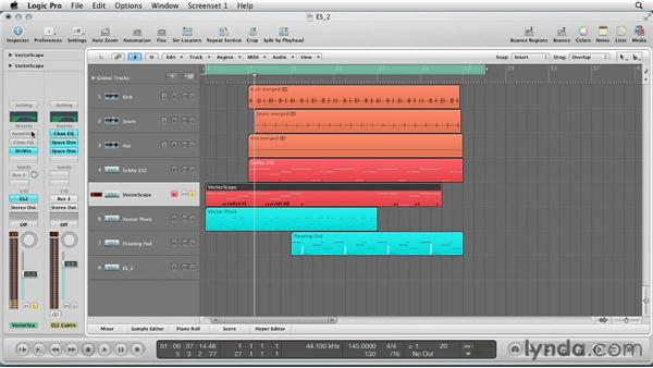 Composing with the ES2: Virtual Instruments in Logic Pro