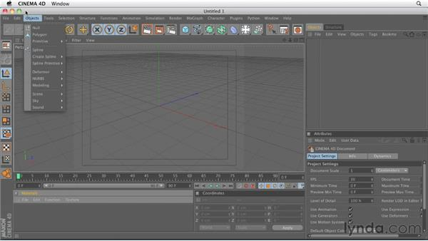 Comparing the main menu bar: CINEMA 4D R13 New Features