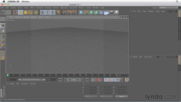 Comparing modes and tools icons: CINEMA 4D R13 New Features