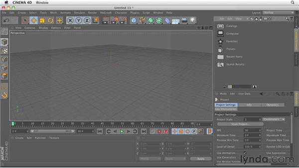 Comparing Object Manager tabs and layout buttons: CINEMA 4D R13 New Features