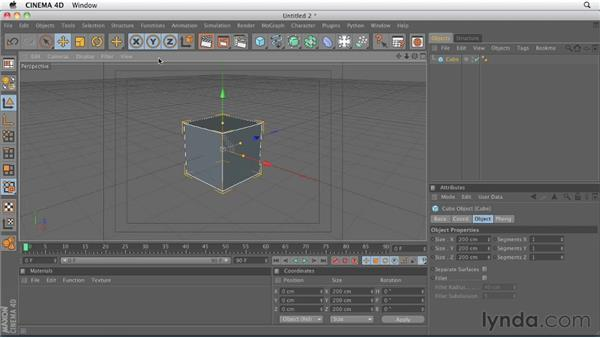 Comparing viewport menus: CINEMA 4D R13 New Features