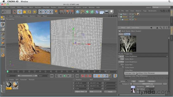 Mograph Multi Shader : CINEMA 4D R13 New Features